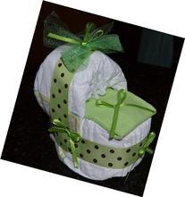 CSM New Baby Diaper Bassinet Gift Set - Girl/boy