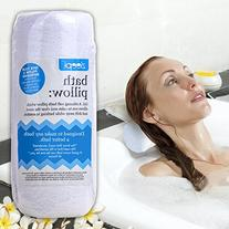 Luxury Bath Pillow for Bathtub with Ultimate Neck Support,