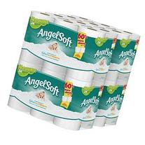 Angel Soft Bath Tissue, 48 Double Rolls Toilet Paper, 12