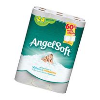 Angel Soft Bath Tissue, 24 Regular Rolls