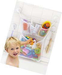 Tub Cubby Bathtub Organizer - 3 Soap Pockets & Massive Toy