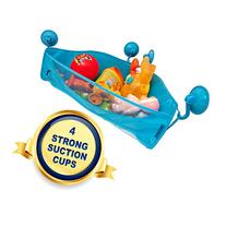 Bath Toy Storage - 4 Strong Adhesive Hooks - Bathtub Toys