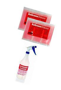 Don Aslett's Bathroom Cleaner Pack Kit