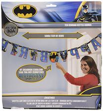 Batman Jumbo Add-An-Age Letter Banner