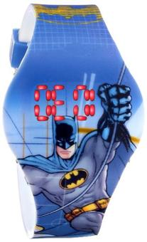 Batman Kids' BAT4095 Digital Display Analog Quartz Blue