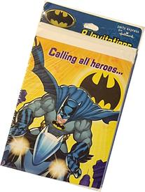"Hallmark Batman ""Calling all heroes..."" Kids Party"