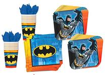 Batman Party Pack Set Plates, Cups, Napkins