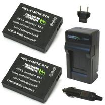 Wasabi Power Battery  and Charger for Panasonic DMW-BCM13,