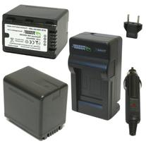 Wasabi Power Battery  and Charger for Panasonic VW-VBK360