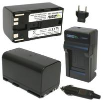 Wasabi Power Battery  and Charger for Canon BP-950G, BP-955