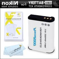 Battery Kit For Nikon COOLPIX B700, P900, P610, P600 Wi-Fi