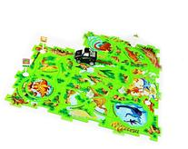 Tech Toyz Battery-Operated Vehicle Puzzle Playset - SUV with