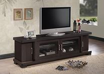 Wholesale Interiors Baxton Studio Viveka Dark Brown Wood TV