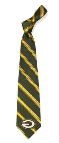 Eagles Wings Green Bay Packers Woven Polyester Tie - Green