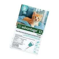 Bayer Advantage II, Cat, under 5 lbs, 4ct