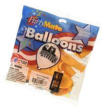 "Pioneer Balloon Company 10 Count Baylor Latex Balloon, 11"","