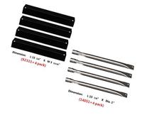 Hongso Gas Grill Replacement KIT Burners, Heat Plates for