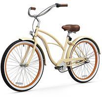 sixthreezero Women's 3-Speed 26-Inch Beach Cruiser Bicycle,