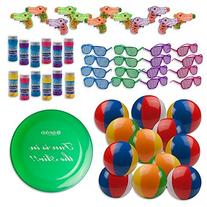 Bulk Pool Party and Beach Party Favors Toys For Kids Pack of
