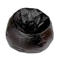Ace Bayou Bean Bag Chair - Vinyl Black Seat - 25 Seat Width