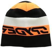Spyder Duo Beanie - Boys' Black/Bryte Orange, One Size
