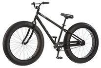 Mongoose Beast Men's Fat Tire Bicycle, Black, 26