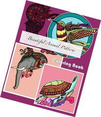 Beautiful Animal Patterns Coloring Book