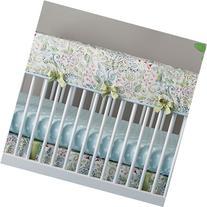 Carousel Designs Bebe Jardin Crib Rail Cover