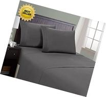 HC Collection Bed Sheet & Pillowcase Set HOTEL LUXURY 1800
