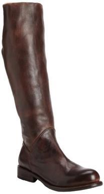 Bed Stu Women's Manchester Teak Rustic Knee-High Leather