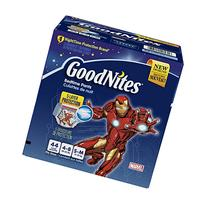 GoodNites Bedtime Pants for Boys, Size Small/Medium, 44