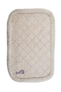 goDog BedZzz  with Chew Guard Technology, Large, Tan Shag