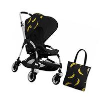 Bugaboo Bee 3 Stroller With Black Seat and Andy Warhol