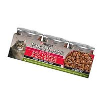 Beef, Carrots and Rice Entree Cat Food in Gravy