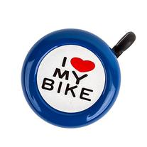 "Sunlite ""I Love My Bike"" Bell, Blue"