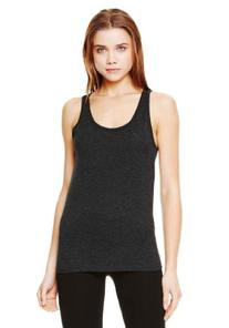 Bella+Canvas Unisex Jersey Tank - Charcoal Black TriBlend