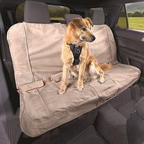 Kurgo Waterproof Car Bench Seat Cover for Dogs, Heather