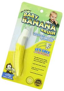 Baby Banana Bendable Training Toothbrush Toddler
