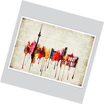 Berlin Watercolor Print, 8.5 x 11 inches