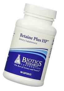 Biotics Research Betaine Plus HP -- 90 Capsules