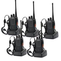 5 Pack BaoFeng BF-888S Long Range UHF 400-470 MHz 5W CTCSS