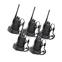 5 Pack BaoFeng BF-888S  Portable Handheld 2-way Ham Radio