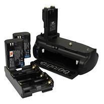 DSTE® Pro BG-E7 Vertical Battery Grip + 2x LP-E6 LP-E6N for