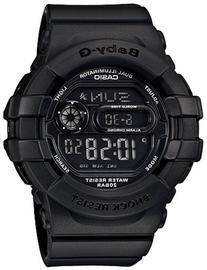Casio Women's BGD140-1A Black Resin Quartz Watch with Black