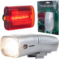 Whetstone Bicycle Headlight and Taillight Set