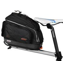 Ibera PakRak Quick-Release Mini Commuter Bike Trunk Bag and