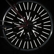 12pcs Bicycle Wheel Spoke Reflector Reflective Mount Clip