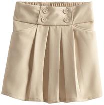 Dockers Big Girls'  4 Button Scooter, Khaki, 16