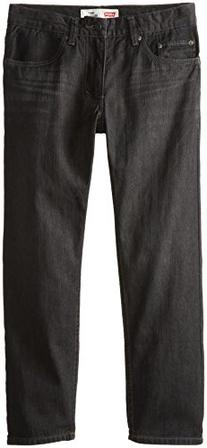 Levi's Big Boys' 505 Regular Fit Jeans, Levine, 12 Husky