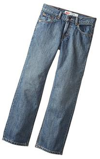 Levi's Big Boys' 550 Relaxed Fit Jeans, Clean Crosshatch, 11